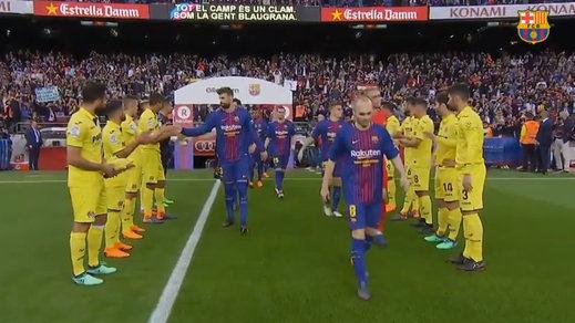 El Barça le agradece el pasillo al Villarreal con una manita (5-1)