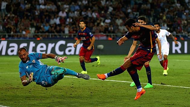 'SuperPedro', el héroe que regala al Barça el trono de la Supercopa europea con un gol decisivo (5-4)