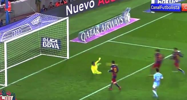 El penalti 'indirecto' de Messi, �genialidad o falta de respeto al rival?