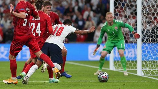 Eurocopa: Inglaterra se mete en 'su' final con un penalti muy dudoso que el VAR no anuló