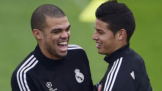 El Real Madrid se va preparando para las posibles despedidas de James y Pepe
