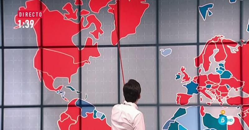 El Pequeño Nicolás confunde Australia ¡con Groenlandia! en un mapa