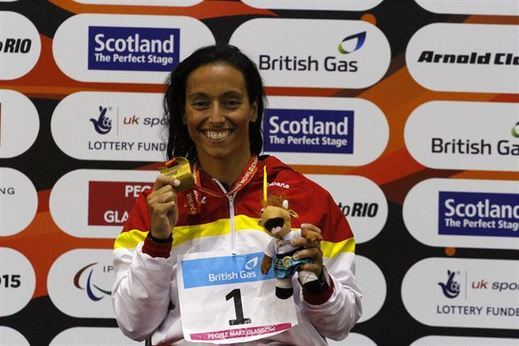 Teresa Perales redondea su historial con la única medalla que le faltaba: oro en los Mundiales