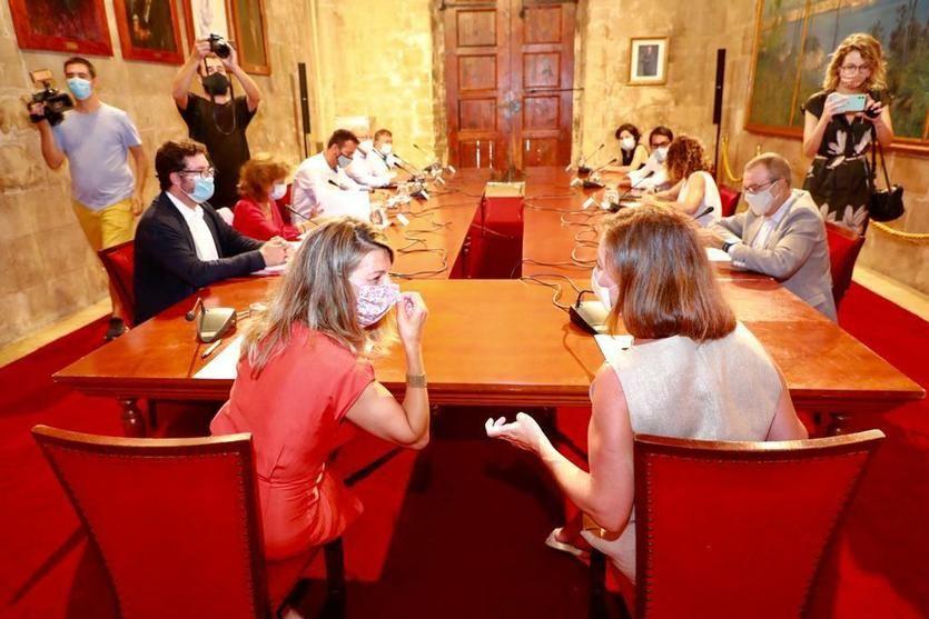 Yolanda Díaz anuncia una Mesa extraordinaria del Diálogo Social en Illes Balears