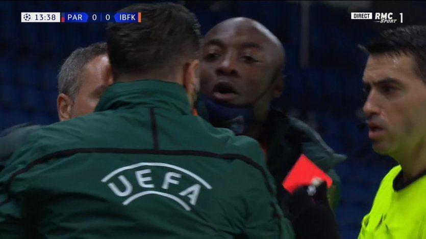Polémico y presunto episodio racista durante el PSG- Istanbul Başakşehir de Champions