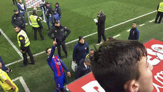 El show de Piqué en Villarreal: el azulgrana se juega su futuro