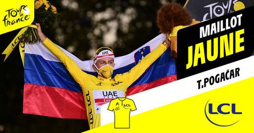 Eslovenia está de moda: Pogacar gana el Tour de Francia y se une a la élite mundial con Doncic y Oblak