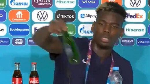 Del gesto anti Coca-Cola de Cristiano Ronaldo al anti-cerveza de Pogba