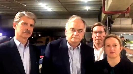 Una delegación del Partido Popular Europeo, expulsada de Venezuela por el chavismo