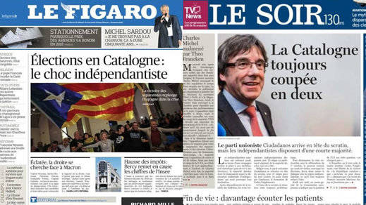 La prensa internacional se vuelca con el independentismo y afea a Rajoy por sus inservibles elecciones