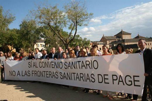 El PP-CLM comienza las movilizaciones para defender el convenio sanitario con Madrid
