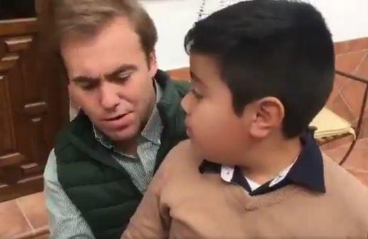 El PP la lía con un vídeo en el que un niño desea la muerte de Sánchez