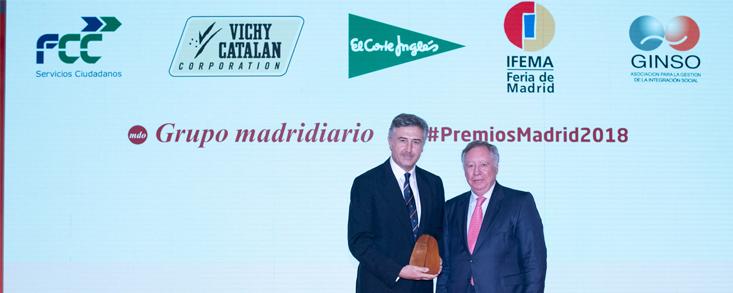 Lopesan Meloneras Golf, protagonista en los premios Madrid 2018