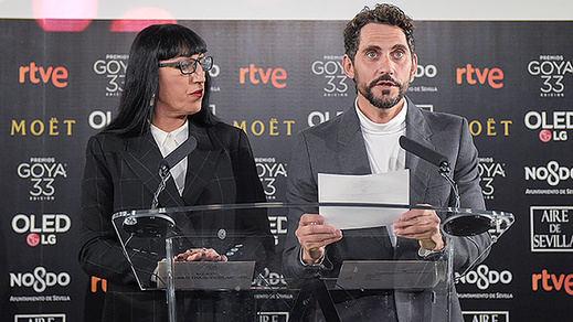 Premios Goya 2019: todos los nominados, entre los que destacan 'Campeones', 'Carmen y Lola'...