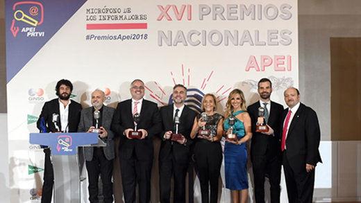 El golf y sus valores, presentes durante la entrega de Premios de la APEI