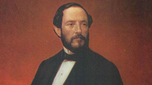 Retrato del general Juan Prim y Prats, por   Luis de Madrazo