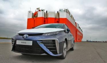 Llegan a Europa las primeras unidades de Toyota Mirai