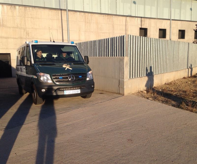 Morate regresa a la prisión de Estremera (Madrid) tras el registro de su domicilio en Cuenca