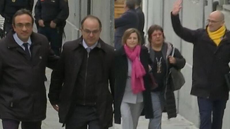 El juez Llarena toma hoy declaración a Turull y 5 otros investigados por el 'procés' y podría enviarles a prisión