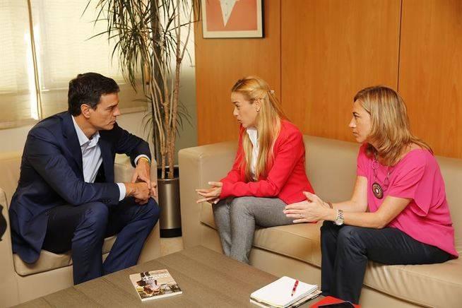 El PSOE vigilar� 'in situ' las elecciones venezolanas por petici�n de los opositores de Maduro
