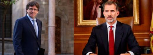 Puigdemont 'escribe' el discurso de Nochebuena del Rey que no emitirá TV3