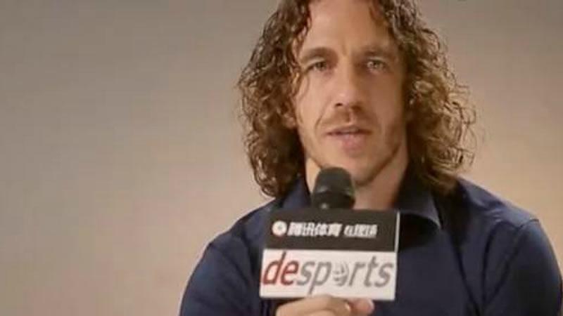 Puyol, atacado por las hordas de hooligans independentistas por decir que es 'español'