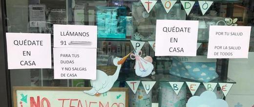 La farmacia madrileña denuncia desprotección frente al coronavirus