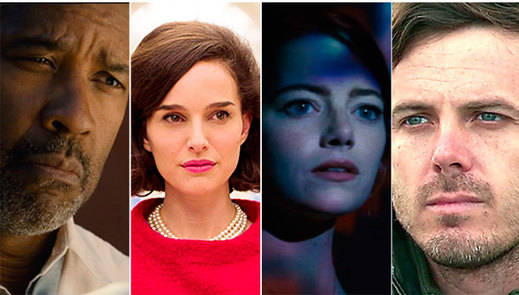 La quiniela de los Oscar 2017: actores y actrices