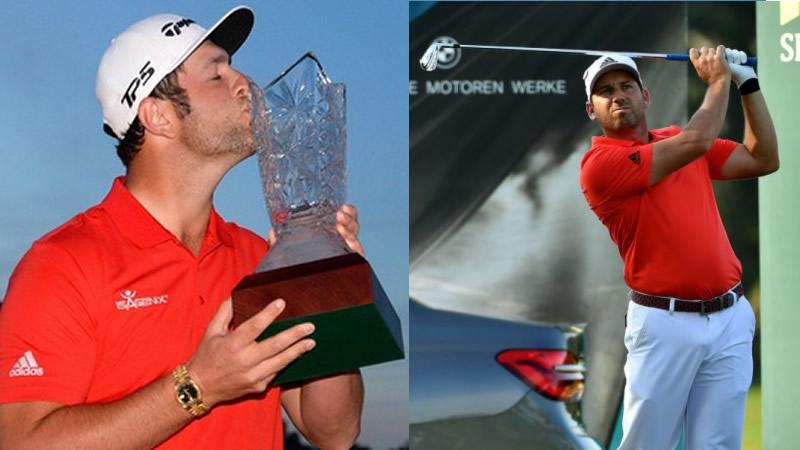 El golf español está de fiesta: Jon Rahm y Sergio García se llevan dos torneos