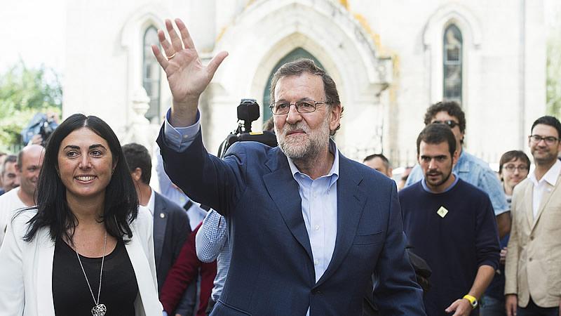 Rajoy, sobre unas terceras elecciones: 'Si hay que volver a ir, se va...'