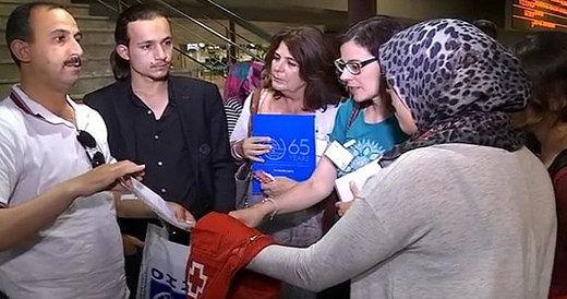 Llega a Madrid el primer grupo de refugiados sirios procedente de Turquía