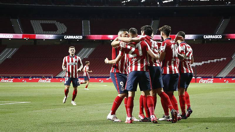 El Atleti sí quiere la Liga: 2-1 a la Real y liderato consolidado a falta de 2 partidos