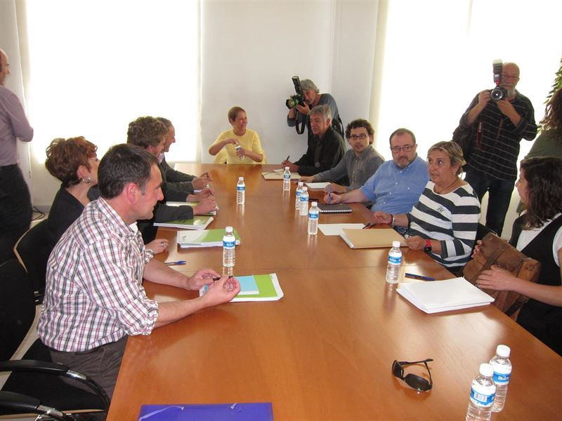 >> Podemos, Geroa Bai, EH Bildu e Izquierda-Ezkerra concurrirán juntos al Senado el 20-D