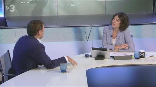 El tenso encontronazo entre Albert Rivera y una presentadora de TV3