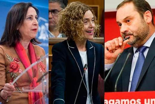 Robles, Ábalos y Batet renuncian a sus actas de diputados para ser sólo ministros y no ausentarse de votaciones