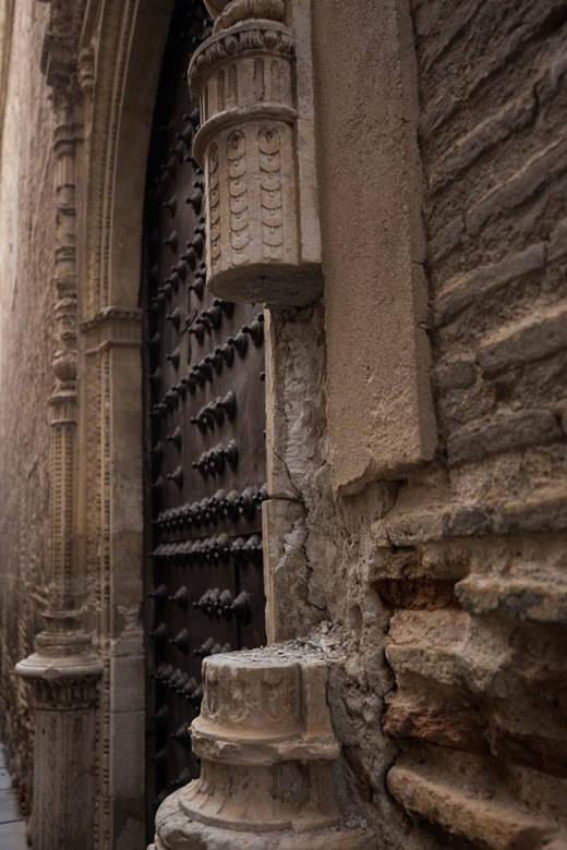 Roban un trozo de columna del convento de San Clemente de Toledo