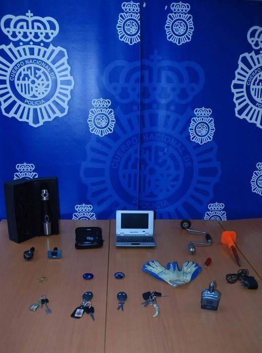 Esclarecidos 44 robos en vehículos en Cuenca