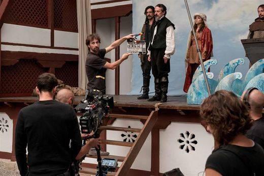 El rodaje de la serie 'El Ministerio del Tiempo' se despide de Almagro