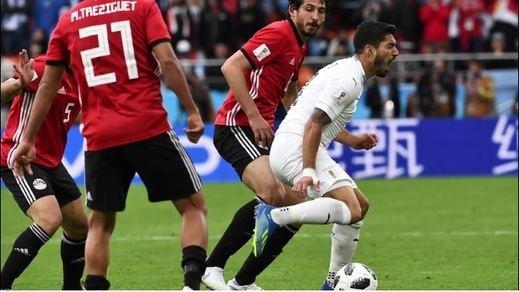 Rusia 2018: Egipto 0-1 Uruguay