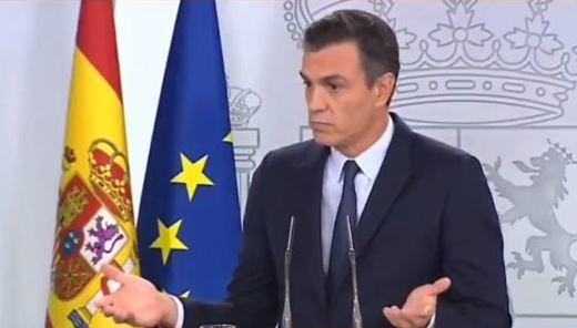 La soberbia de Sánchez en 15 segundos de silencio como respuesta
