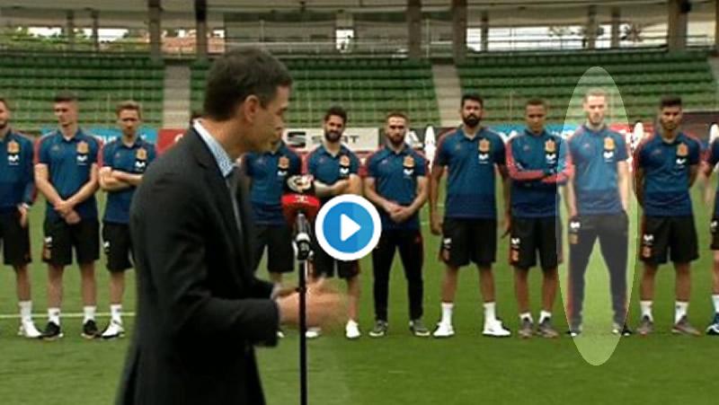 El incidente de Pedro Sánchez con De Gea en la Selección