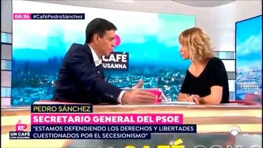 Cuando Sánchez sí apreciaba un delito de rebelión en Cataluña: