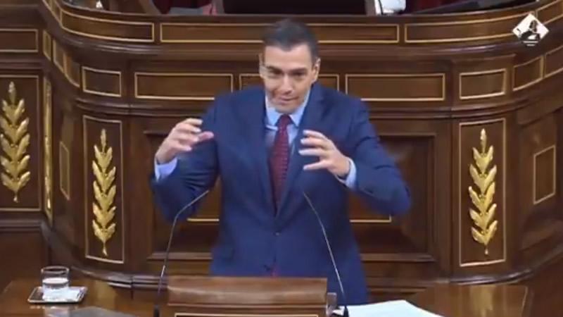 El vídeo viral de Sánchez contra Vox: 12 segundos de monologuista