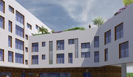 Las viviendas en la antigua parcela de Tabacalera de la calle Alta de Santander costarán entre 97.000 y 112.000 euros