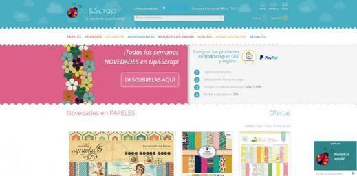 UP & SCRAP comienza su expansión por Europa