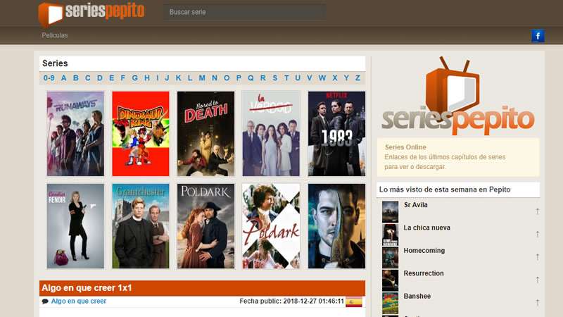 La piratería no descansa: vuelve la popular web de descargas 'Series Pepito'