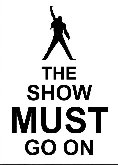 Caratula de Show must go on de Queen