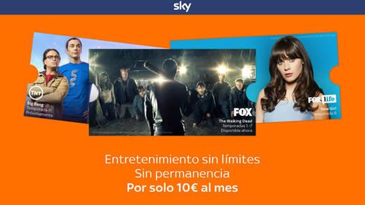 'Sky TV' en España: ¿qué novedades ofrece esta plataforma de televisión lowcost?