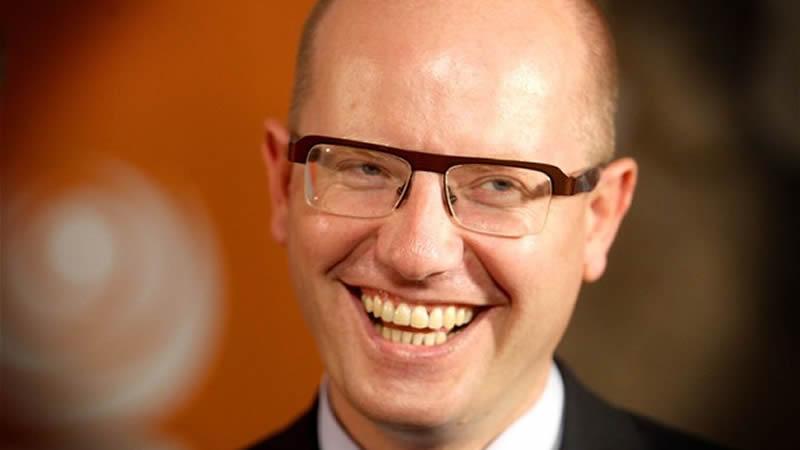 El ministro del Interior, Wolfgang Sobokta