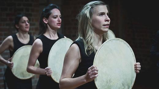 'Songs of Lear', un montaje tocado por la mano de los dioses
